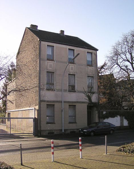 The original apartment block in Rheydt